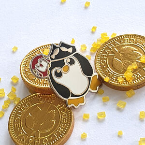 Pirate Penguin Enamel Pin Badge Captain Jack Penguin