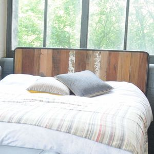Mariner Reclaimed Wood Headboard - beds
