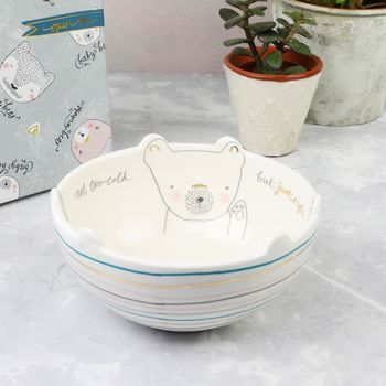 'Over The Moon' Three Bears Bowl