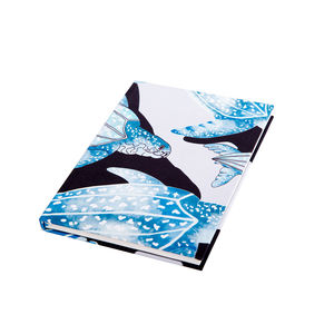 Handmade Leatherback Turtles Print A5 Notebook