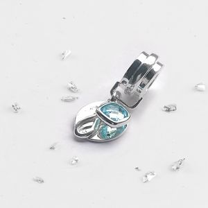 Ashes Memorial Charm With Infinity Knot And Birthstone
