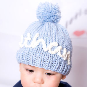 Knit Your Own Kid's Personalised Hat Kit