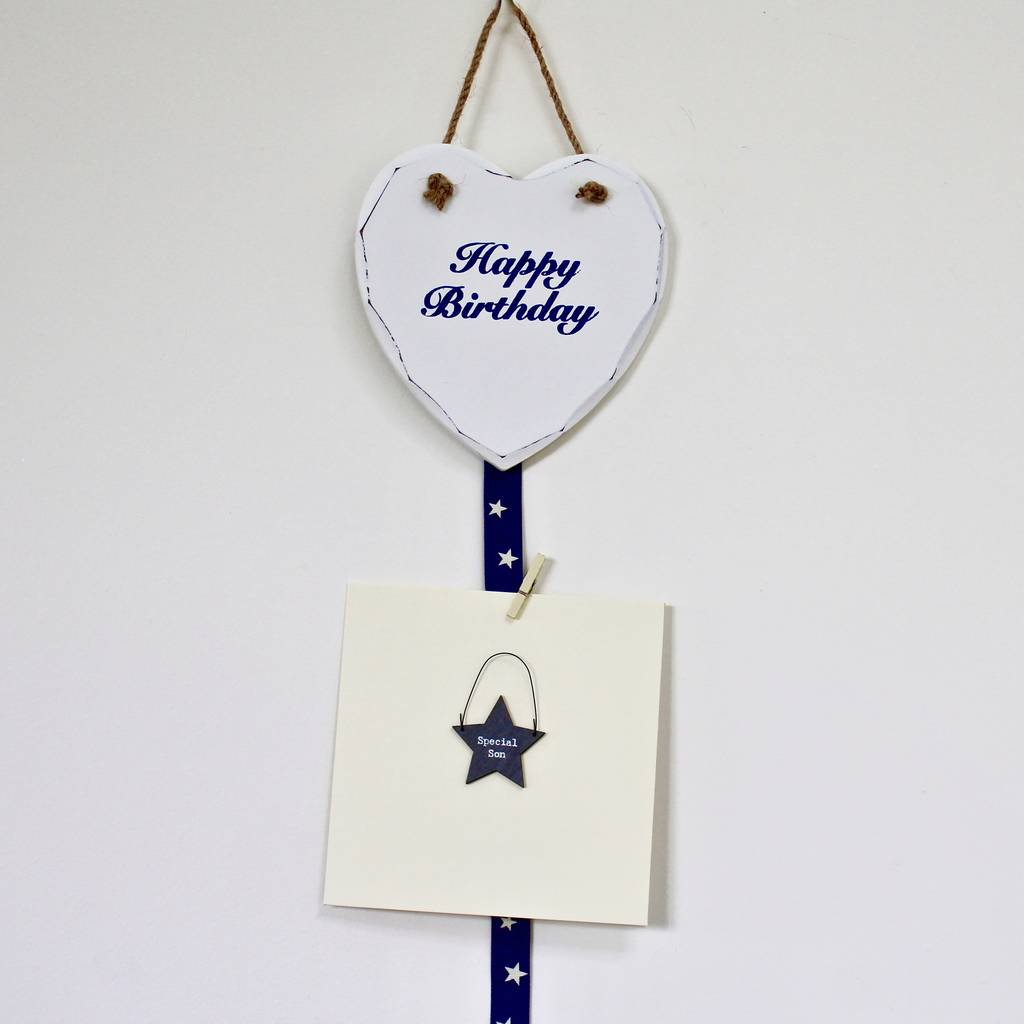 Birthday Card Holder By Chapel Cards Notonthehighstreet Com