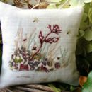 grasses lavender cushion