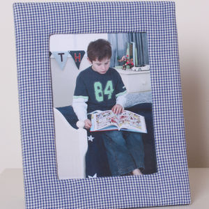 Fabric Photo Frames - picture frames