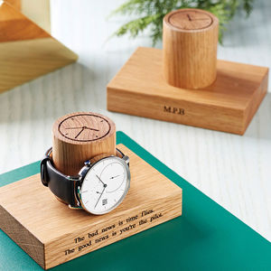 Gents' Single Watch Stand - gifts for grandparents