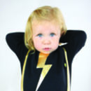 Cool Baby Bib Lightning Strike