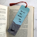 'Little Boat At Sea' Personalised Bookmark For A Friend