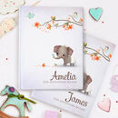 The Personalised New Baby Keepsake Book