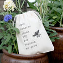 'Bumble Bee' Teacher Gift Bag With Seeds