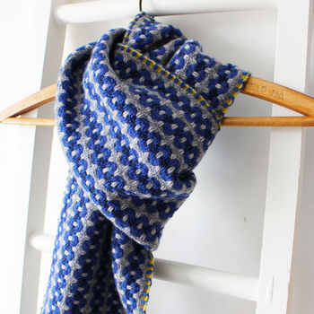 Handwoven Sea Glass Scarf