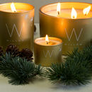 Gold, Frankincense And Myrrh Dual Travel Candle Set