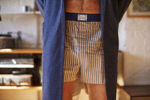 Men's Cotton Boxer Shorts - men's fashion