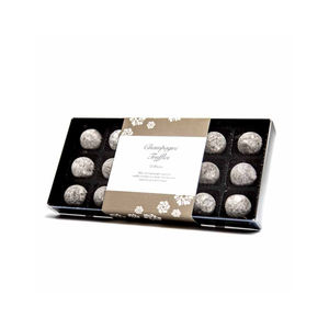 Champagne Truffle Box - chocolates & confectionery