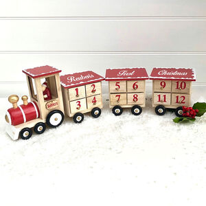 Personalised Advent Santa Train
