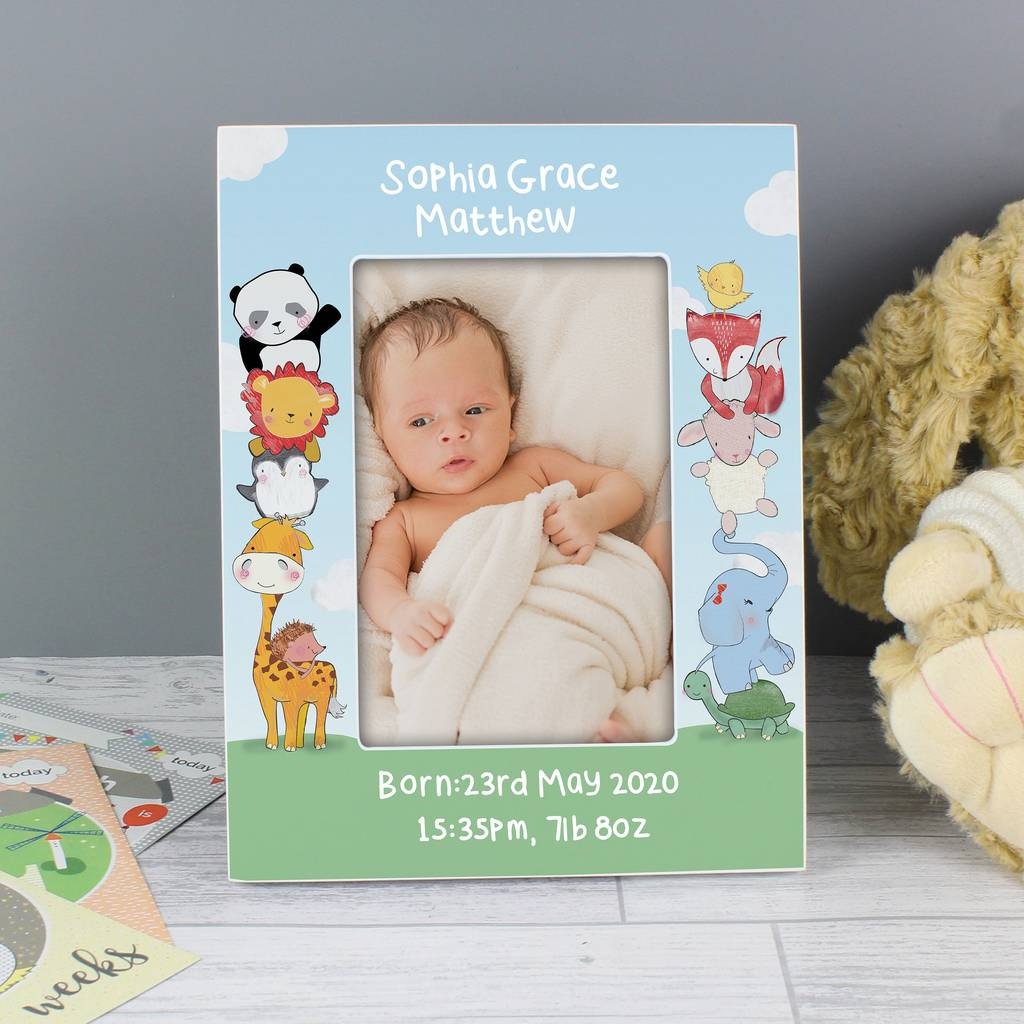 700ad996a3e8 personalised animal fun photo frame by sassy bloom as seen on tv ...