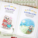Christening Gift Book Personalised for Boys