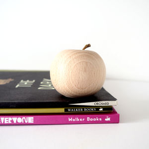 Wooden Apple Decoration - new in baby & child