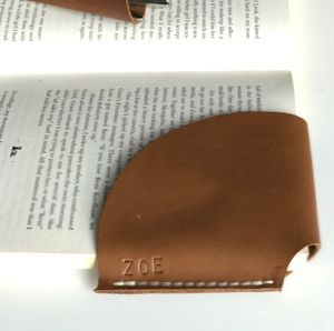 Leather Bookmark Handmade In London