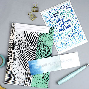 Blank Ink Marks Notebook - whats new