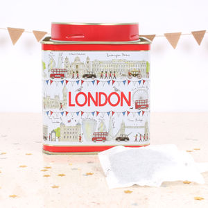 London Icons Tea Caddy