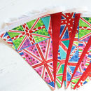 Contemporary Union Jack Bunting