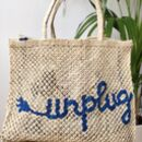 Unplug Handmade Bag