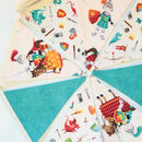 Knights And Dragons Mini Bunting