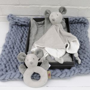 Grey Gift Set For Baby