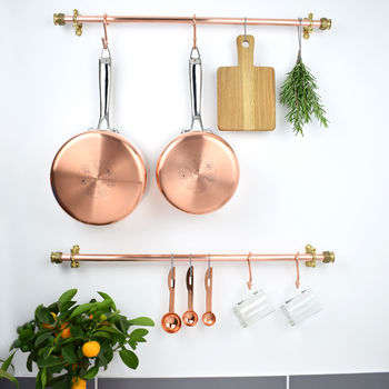 Industrial Copper And Brass Pan Rail
