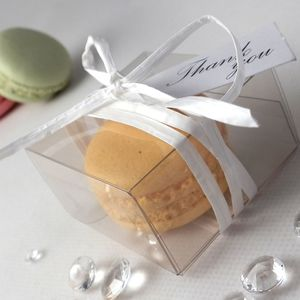 100 X Personalised French Macaron Wedding Favours - edible favours