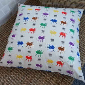 Rainbow Spider Giant Floor Cushion