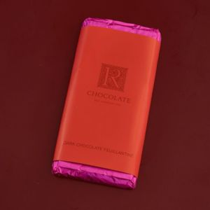 Feuillantine Chocolate Bar Dark