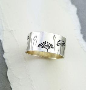 Sterling Silver Autumn Ring - rings