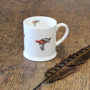 Grouse Bone China Mini Mug