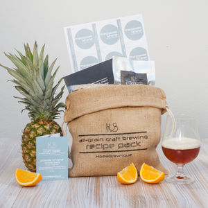 Craft Beer Ingredient Kit - wines, beers & spirits