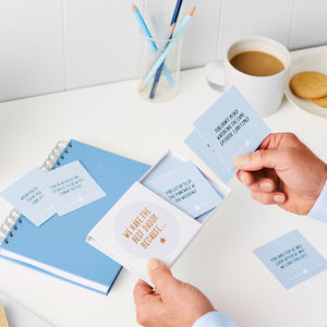 Personalised Brilliant Dad Notes - gifts for fathers