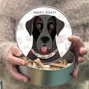 Dog Tin 65 Personalised Designs Available