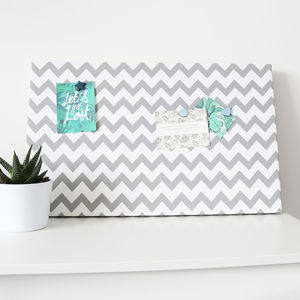Chevron Magnetic Noticeboard - noticeboards
