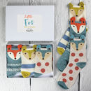 Little Fox Box Of Socks