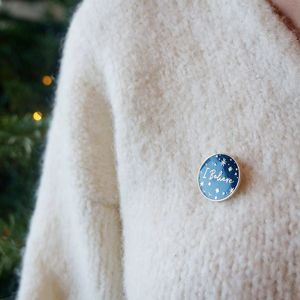 I Believe Enamel Lapel Pin Badge