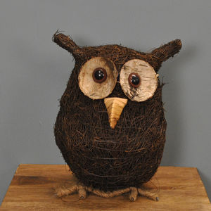 Ollie The Owl Garden Ornament