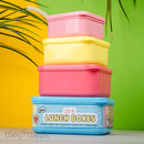 Stacking Lunchboxes