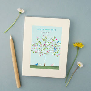 Personalised Tree Notebook - notebooks & journals