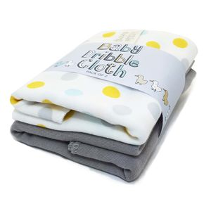 Baby Duckling Dribble Bib Cloths Pack Of Two