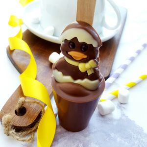 Easter Duck Hot Chocolate Spoon Gift - teas, coffees & infusions
