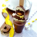 Easter Duck Hot Chocolate Spoon Gift