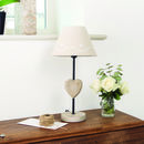 Country Heart Table Lamp