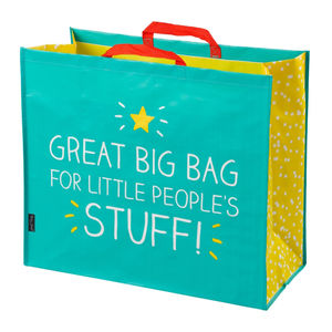 'Little People's Stuff' Large Storage Bag