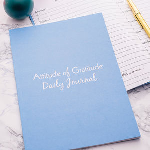 Year Long Gratitude Journal - mindfulness trend